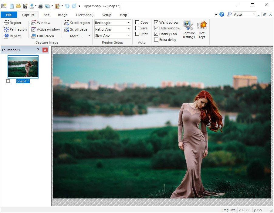 تحميل برنامج قوي وسهل الاستخدام للغاية لالتقاط الشاشة مع ميزات متقدمةHyperSnap 8.16.15