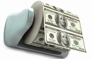 Papel higiénico, dólar, 100 dólares, $100