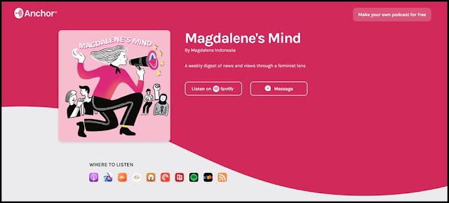 magdalene's mind podcast