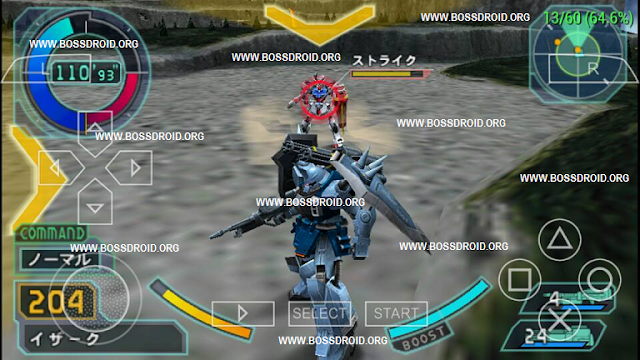 Download Kidou Senshi Gundam Seed - Rengou vs Z.A.F.T PPSSPP PSP ISO High Compress for Android