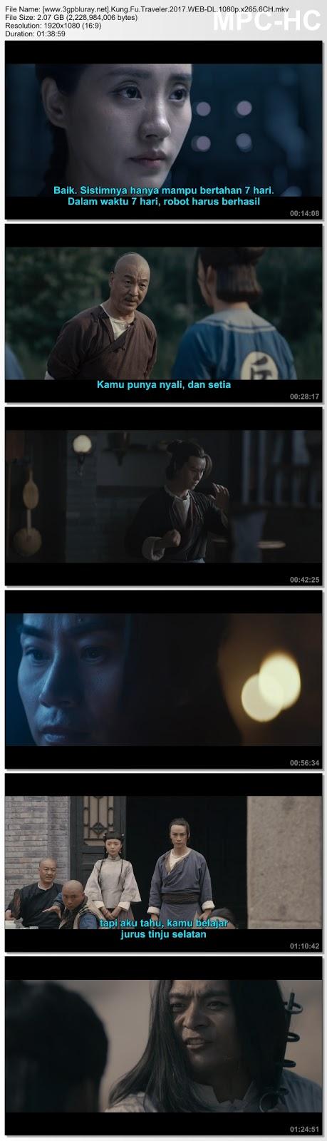 Screenshots Download Film Gratis Hardsub Indo Kung Fu Cyborg (2017) WEB-DL 480p MP4 Subtitle Bahasa Indonesia 3GP