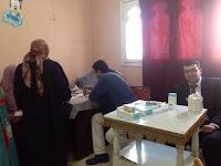 """قافلة طبية من طب المنصورة بإحدى قرى ميت غمر """"أتميدة"""""""
