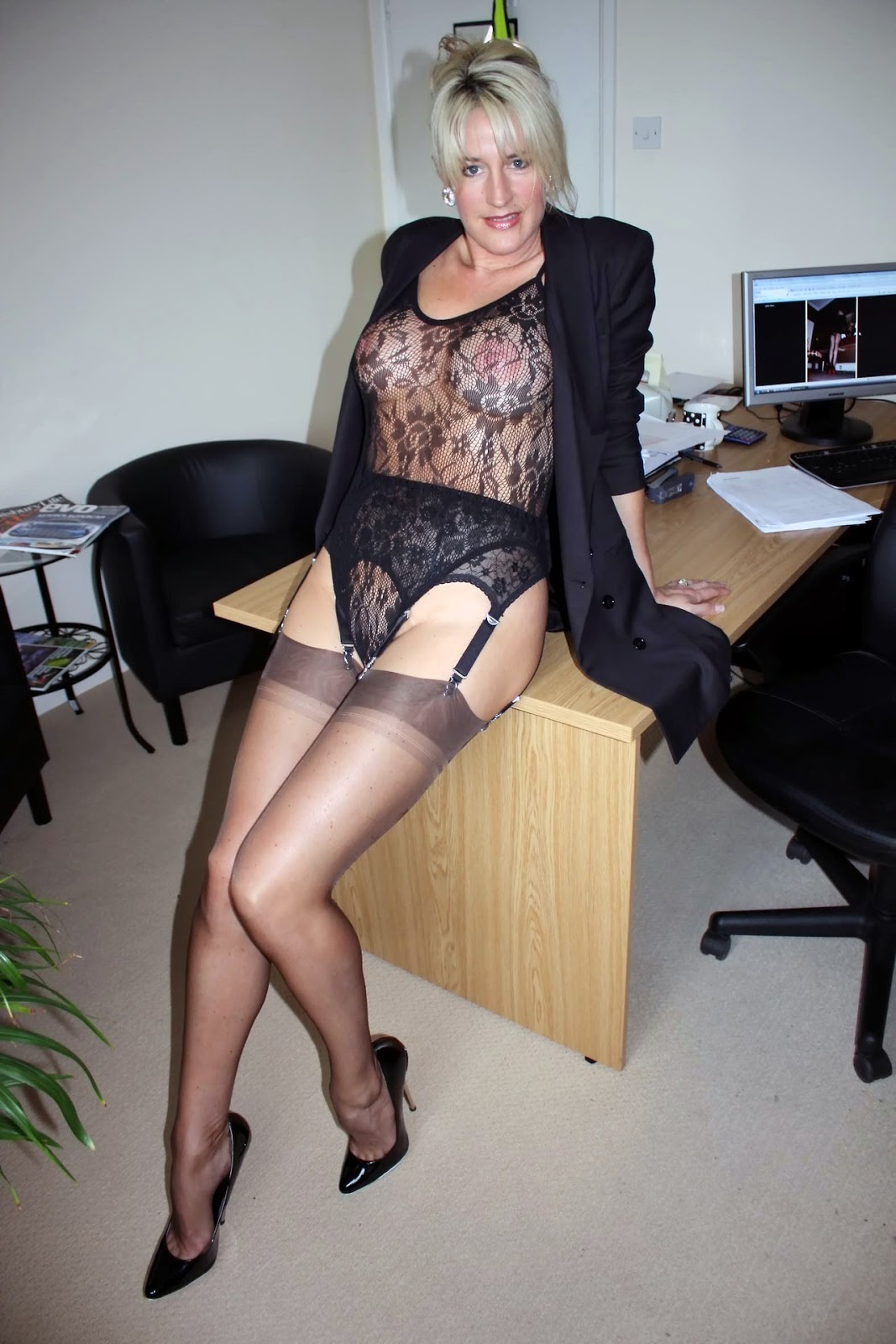 Milf Stocking Porn Pictures