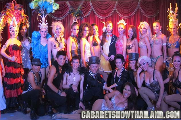 Paris Follies Cabaret Show Chaweng Beach Samui
