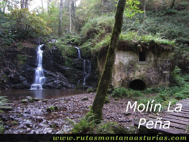 Ruta de los Molinos del Rio Profundo: Molín La Peña