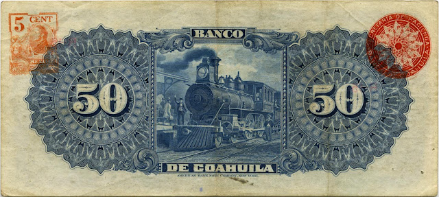 Mexican Pesos Currency Bank Note Image