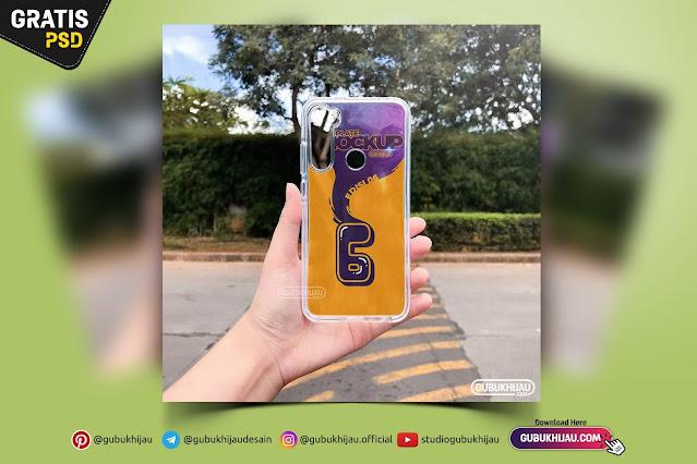 Mockup Fusion Case Redmi Note 8