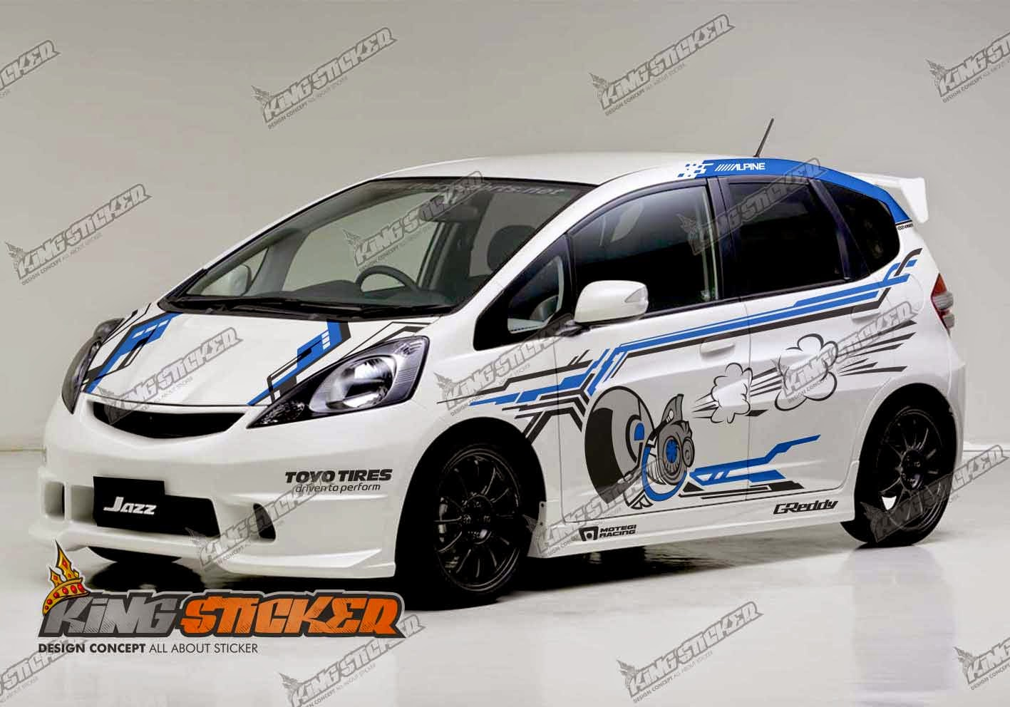 Jual stiker mobil cutting ERC tribal striping sticker ...