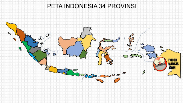 Peta Indonesia per provinsi