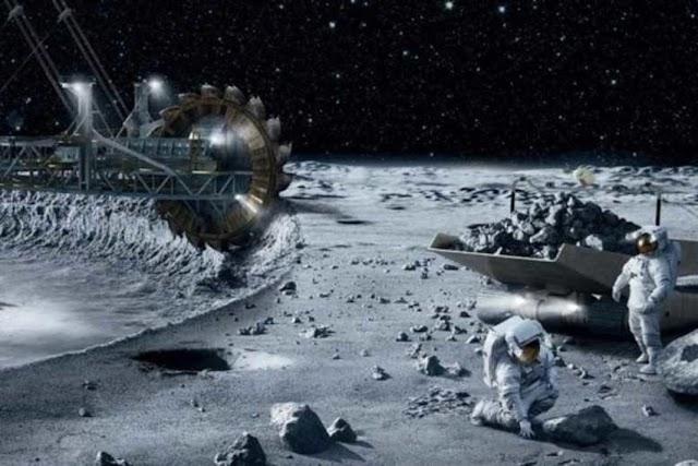Η NASA σπεύδει για να σπάσει το μονοπώλιο της Κίνας στα σπάνια μέταλλα της σελήνης