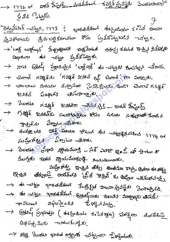 Indian Polity Telugu Medium Class Notes for UPSC IAS, APPSC Group - writing employment application letter
