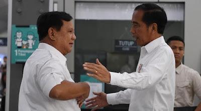 Pertemuan Jokowi-Prabowo, Istana: Tak Bahas Habib Rizieq