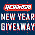 [GIVEAWAY] The HEXMOJO New Year Giveaway