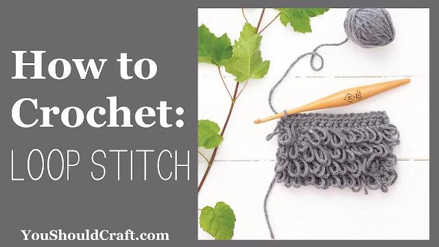 Tutorial de Punto Tupido Bucle a Crochet