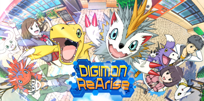 Akhirnya, Bandai Namco Rilis Digimon ReArise Ke Android dan iOs
