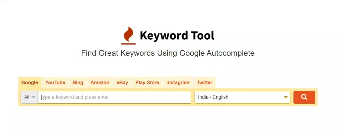 Keyword Tool .io