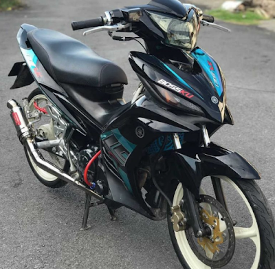 Modifikasi Motor Jupiter MX Simple
