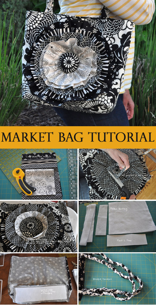Joanie's Market Bag Tutorial