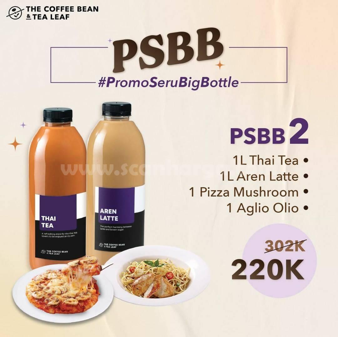 The Coffee Bean Paket PSBB (Promo Seru Big Bottle) 2