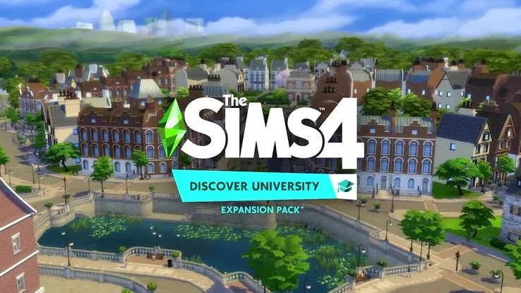 THE SIMS 4 FULL DLC v1.58.63.1010 (DISCOVER UNIVERSITY)