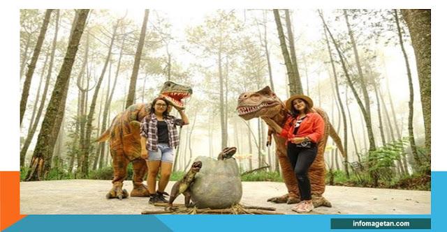 dinosaurus di mojosemi magetan jawa timur