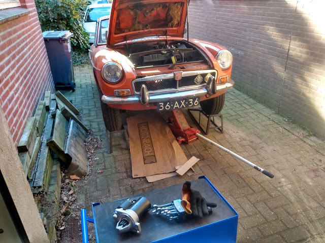 MGB new starter motor: does size matter?