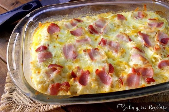 Mac & Cheese. Macarrones con queso. Julia y sus recetas