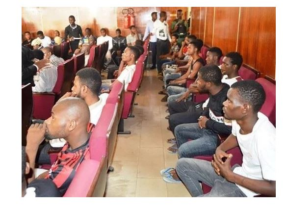 EFCC arraigns 24 'Yahoo' boys, releases names (See Full List)