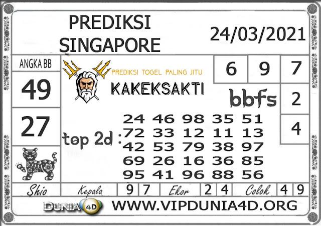 Prediksi Togel SINGAPORE DUNIA4D 24 MARET 2021