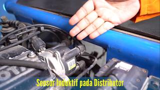 Sensor Induktif pada distributor