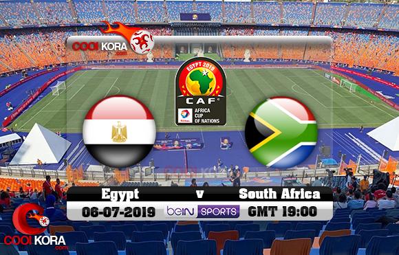 مشاهدة مباراة مصر وجنوب أفريقيا اليوم 6-7-2019 علي بي أن ماكس كأس الأمم الأفريقية 2019