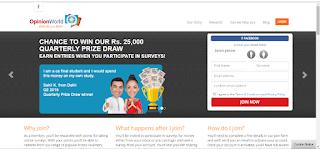 opinion word survey sign up hindi