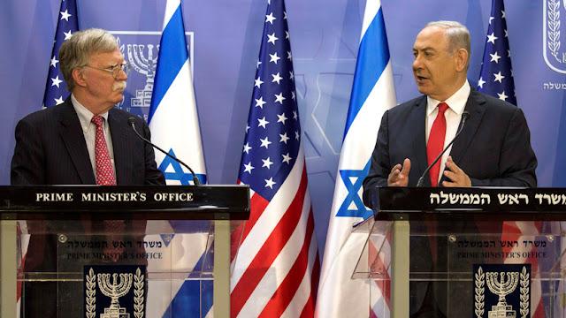 """Netanyahu a Bolton: Cualquier acuerdo con Palestina """"debe incluir"""" la presencia israelí en el valle del Jordán"""