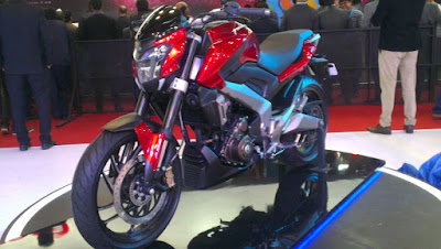 Bajaj Dominar 400 motorcycle