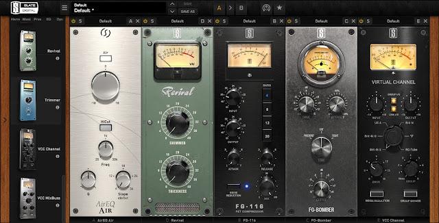 Interface do plugin Slate Digital - Virtual Mix Rack | VMR Complete Bundle v1.5.0.1