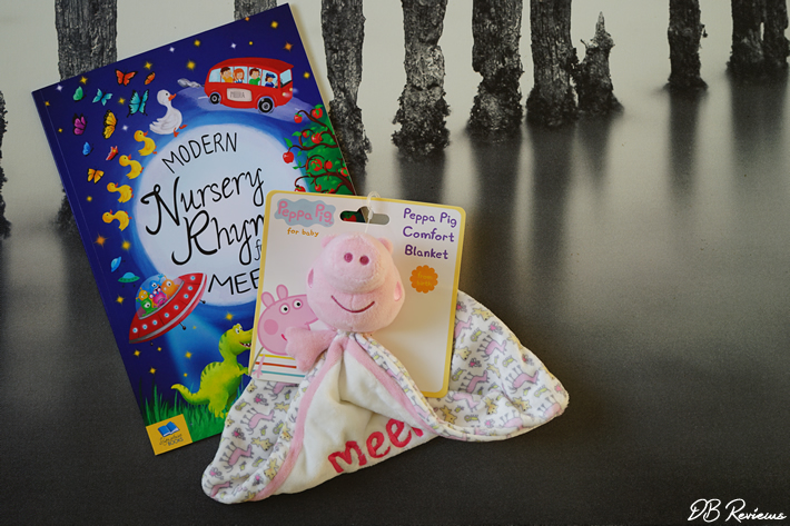 Personalised Modern Nursery Rhymes Book from The Gift Experience