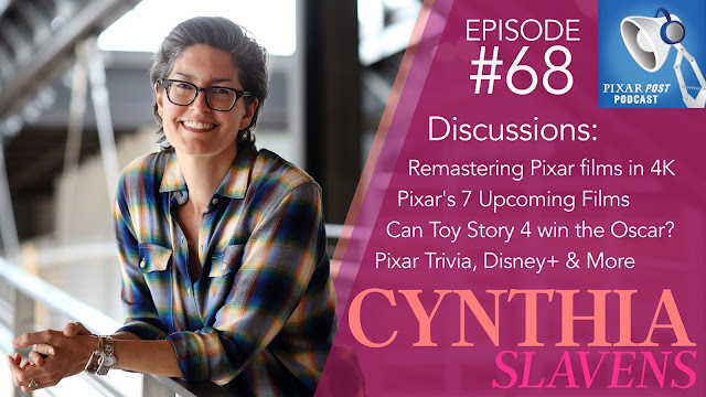Cynthia Slavens Pixar Podcast Interview