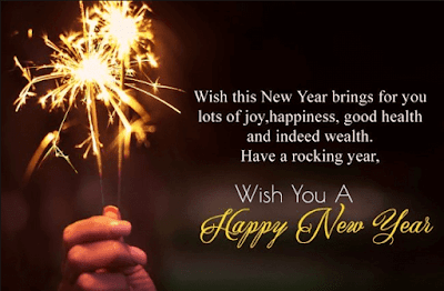 New Year Greetings 2019