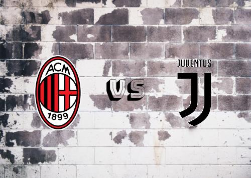 Milan vs Juventus  Resumen y Partido Completo