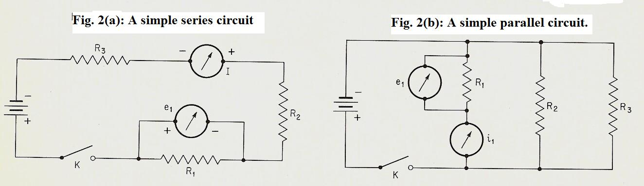 Brane Space Introducing Basic Physics Series Parallel Circuits