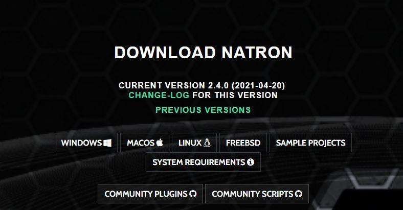 natron download