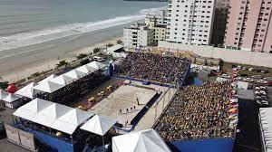 Mundial de vôlei de praia em Itapema