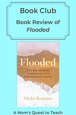 Book Club: Book Review of Flooded; A Mom's Quest to Teach; book cover of Flooded