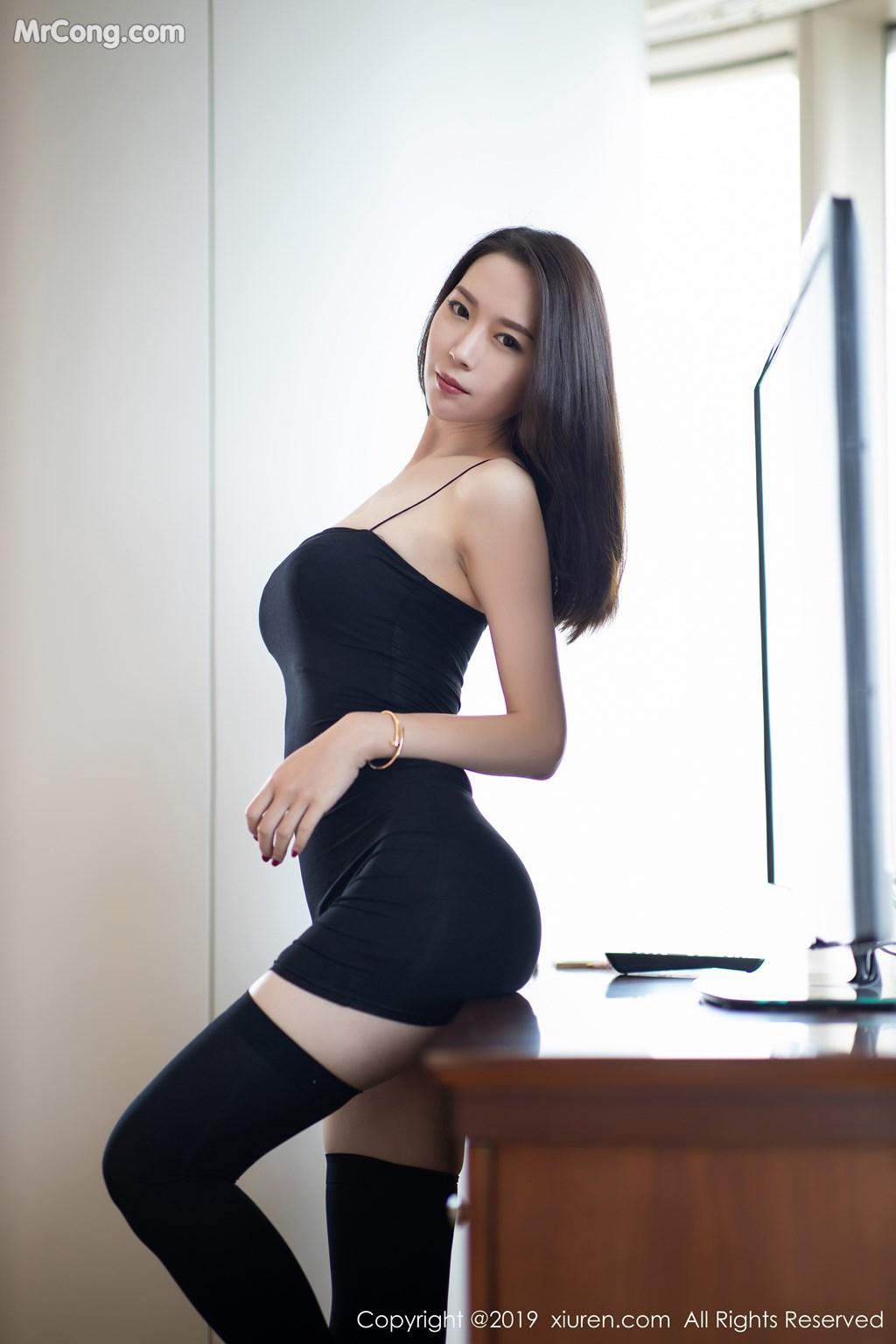 Image XIUREN-No.1720-Meng-Xin-Yue-MrCong.com-005 in post XIUREN No.1720: Meng Xin Yue (梦心月) (81 ảnh)