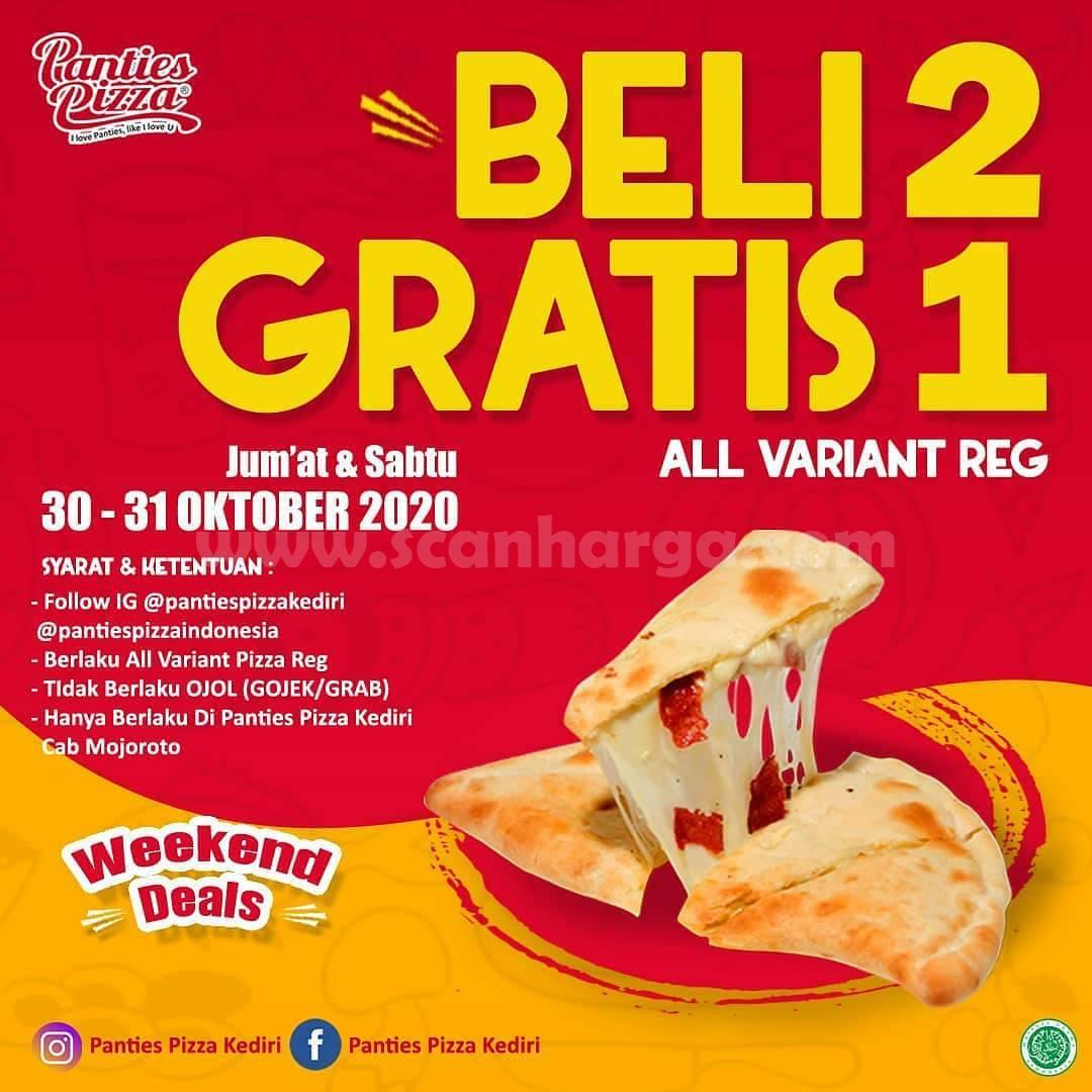 Promo Panties Pizza Weekend Deals [Beli 2 Gratis 1] All variant Reg