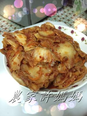 1大白菜泡菜農家許媽媽-1