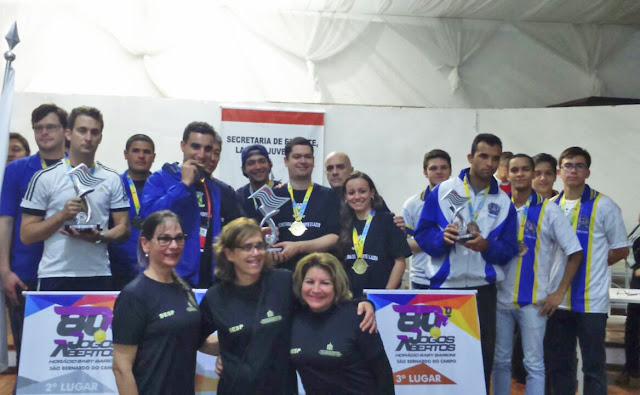 Jogos Abertos: Registro-SP encerra participação em 51º lugar entre 187 municípios