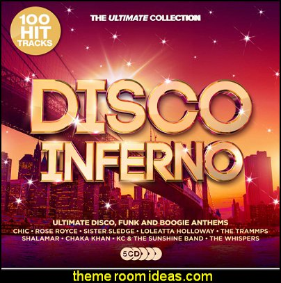 Disco Inferno: Ultimate Disco Anthems 70s music 60s music