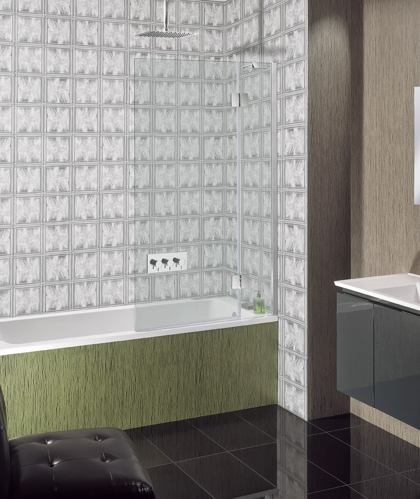 Hinged Glass Shower Screens For Wet Rooms