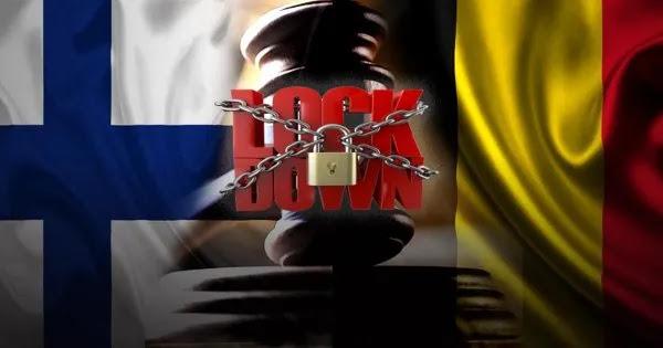 Αποφάσεις σταθμός σε Φινλανδία-Βέλγιο: Αντισυνταγματικό το lockdown! - Βάζουν τέλος οι κυβερνήσεις